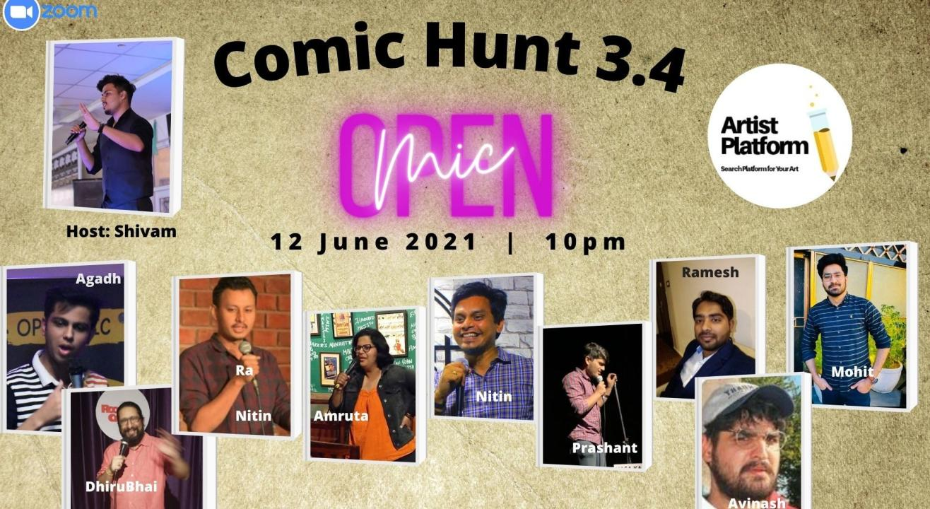 Comic Hunt 3.4 - Competative Stand Up Comedy Show