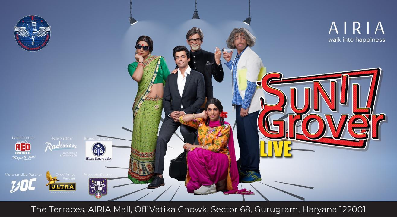 Sunil Grover Live