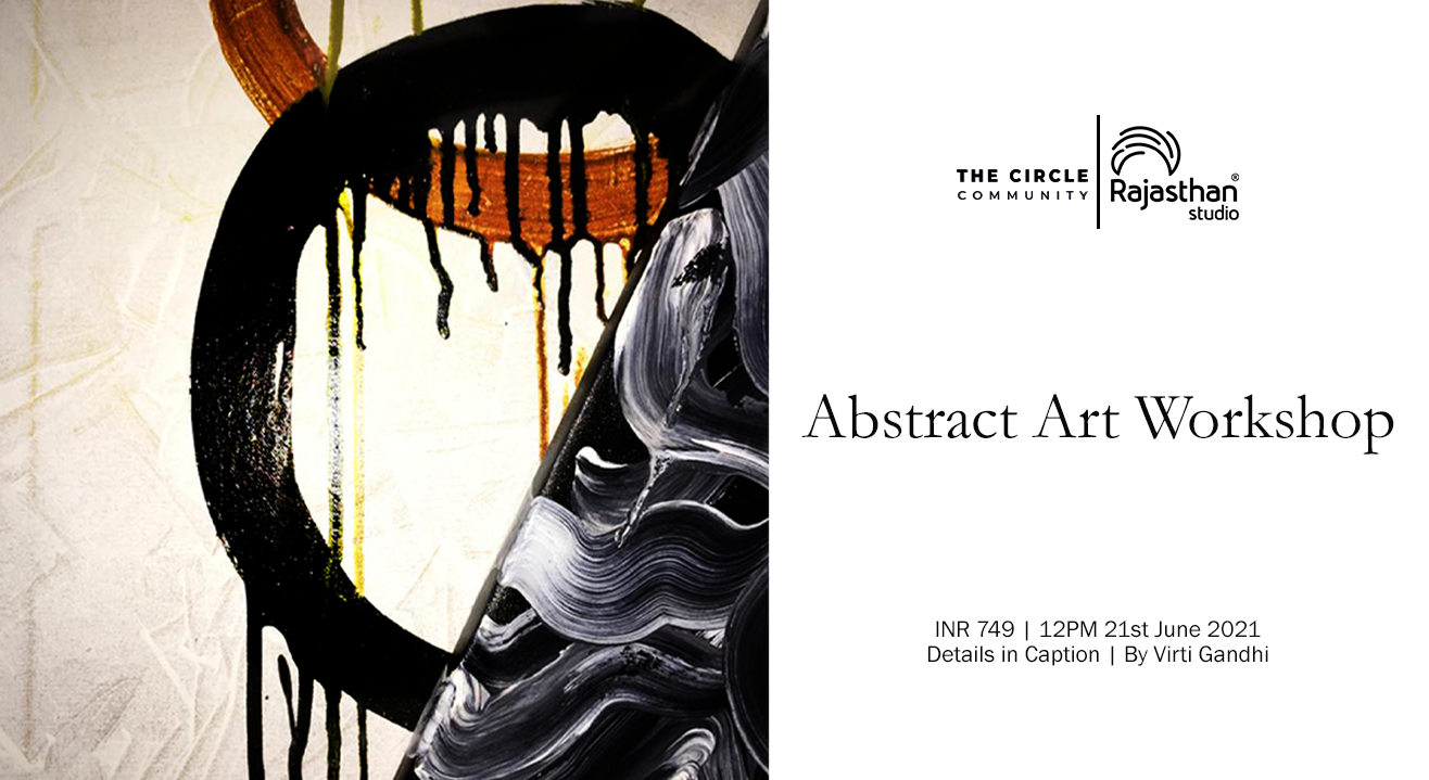 Abstract Art Workshop By The Circle Community
