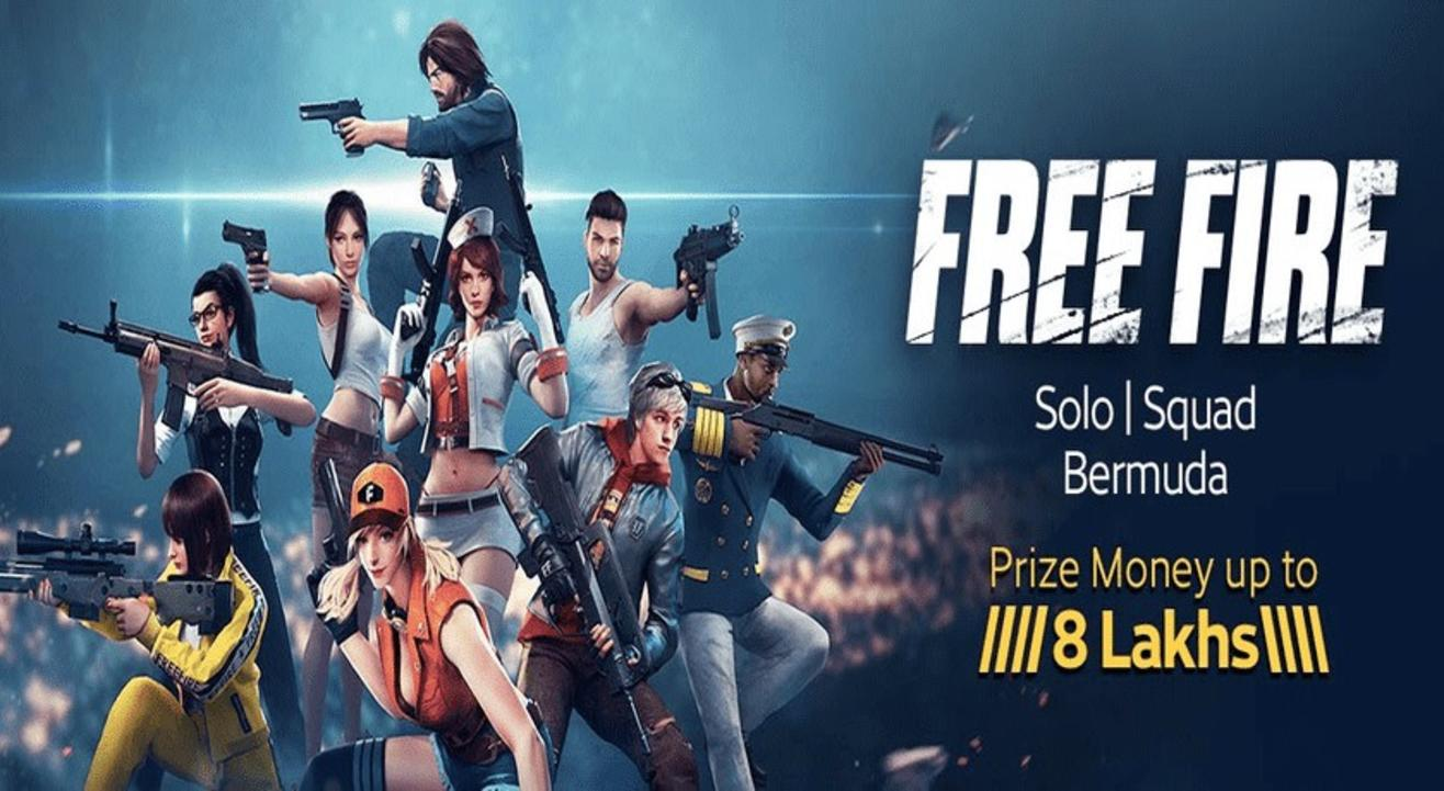 Free Fire Solo And Squad (Bermuda)