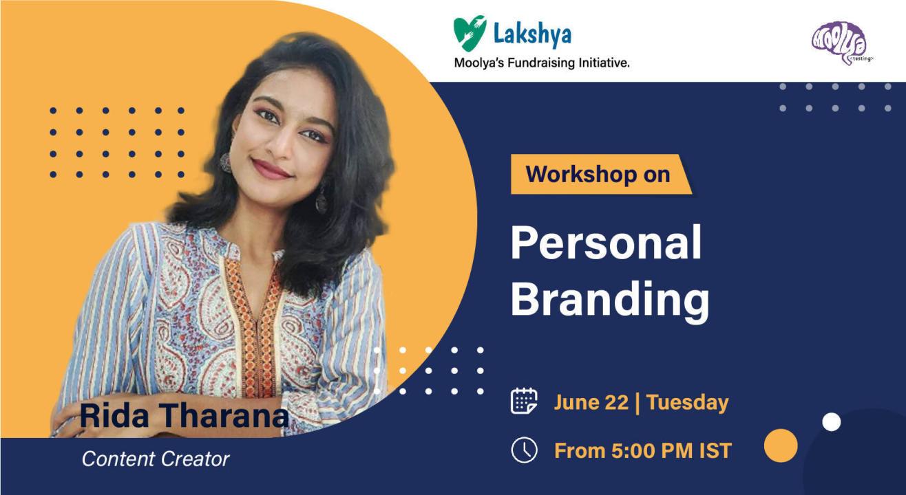 Personal Branding with Rida Tharana