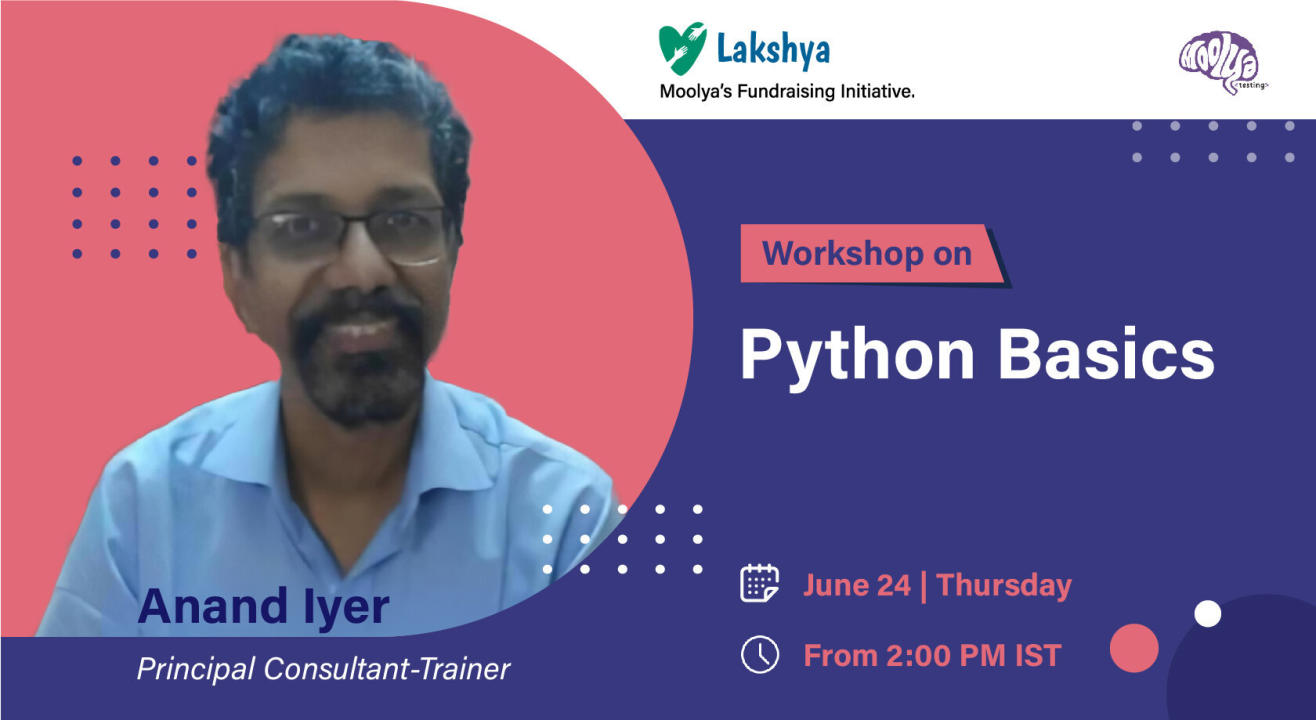 Python with Anand Iyer