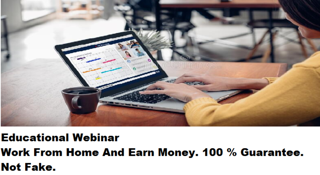 Work From Home And Earn Money