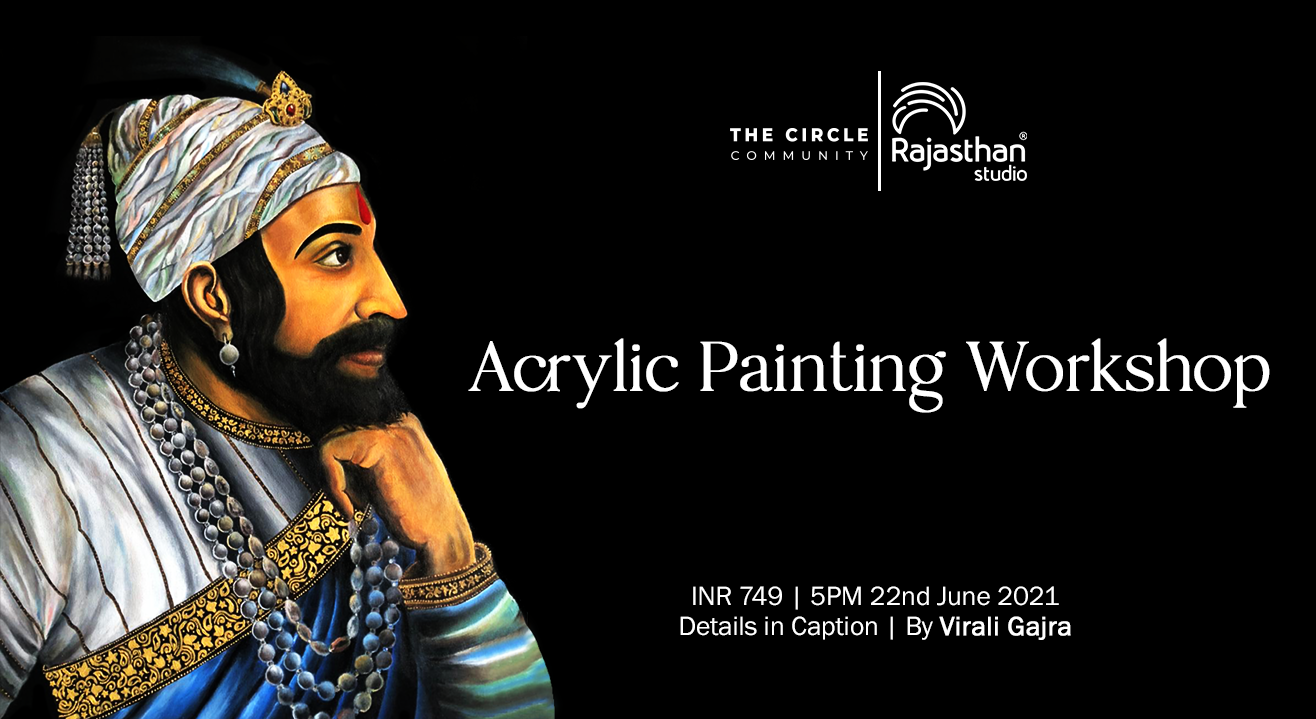 Acrylic painting Workshop by The Circle Community