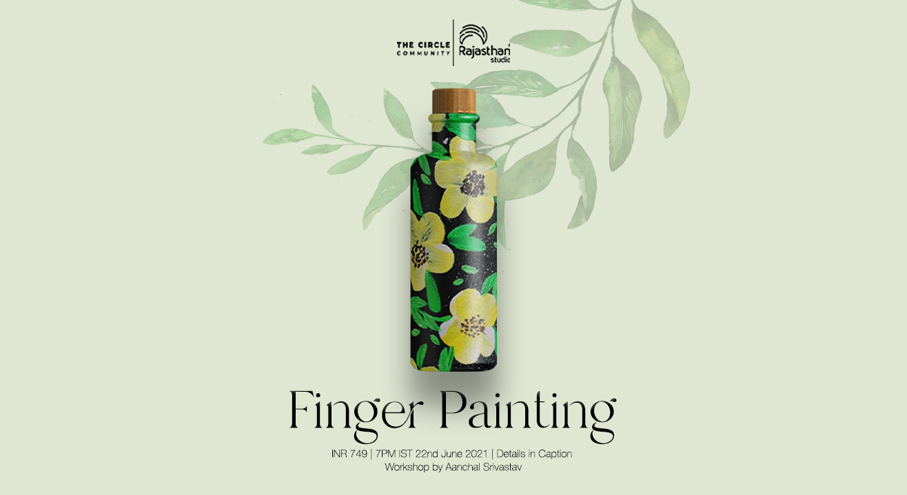 Finger Painting Workshop by The Circle Community