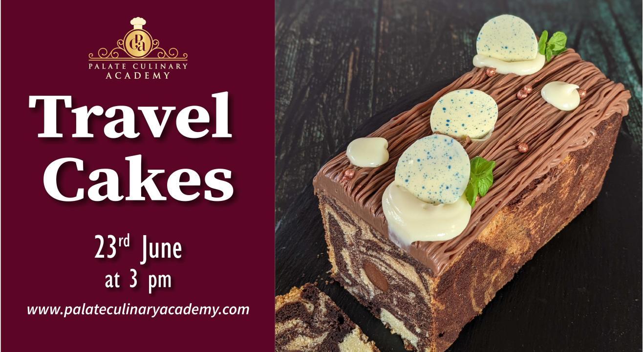 Exotic Eggless Travel Cakes with Rakhee Vaswani