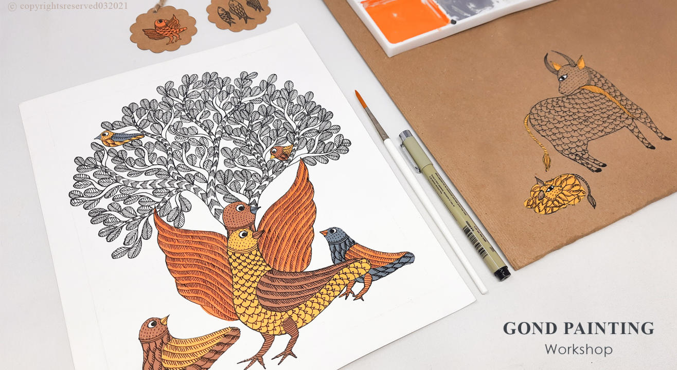 Gond Painting Workshop