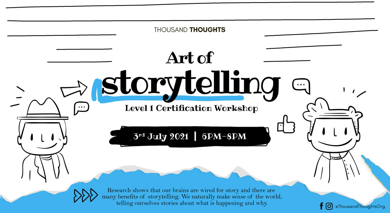 Art of Storytelling Level 1 Workshop