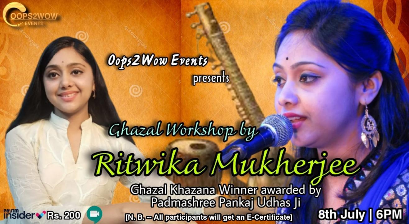 Ghazal Workshop by Ritwika Mukherjee