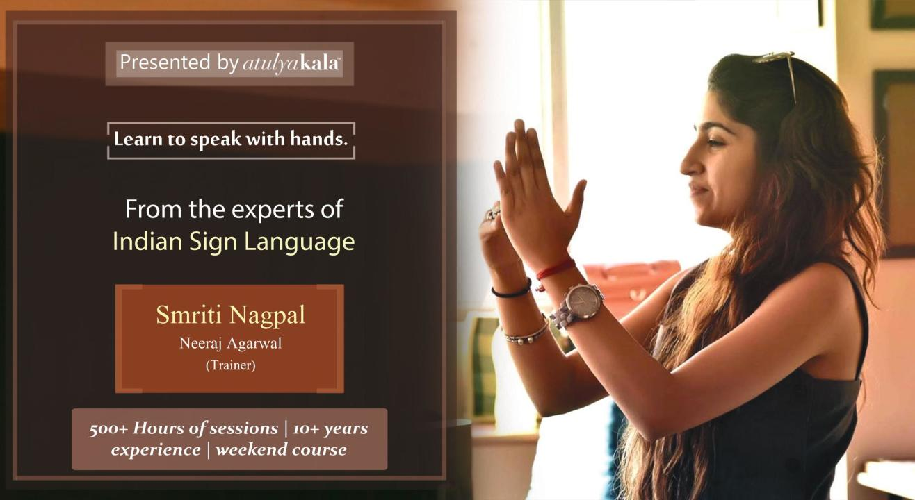 INDIAN SIGN LANGUAGE COURSE WITH CERTIFICATION