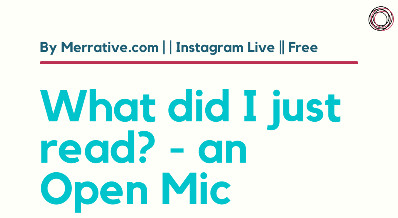 What did I just read? - Open Mic for book recommendations