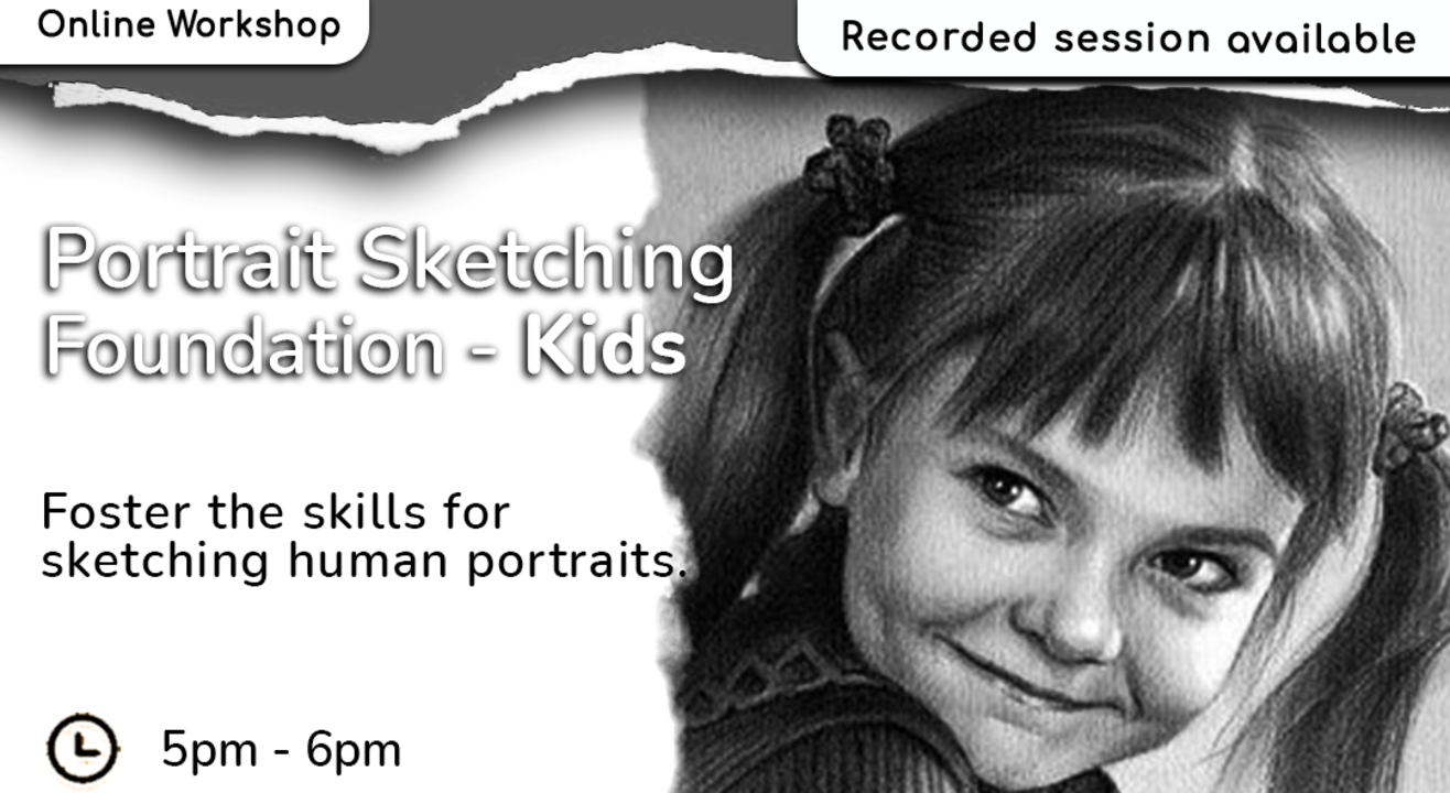 Portrait Sketching for Kids with BAFA