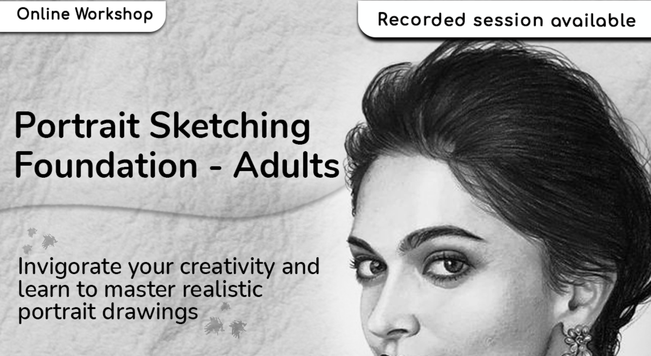 Portrait Sketching for Adults with BAFA