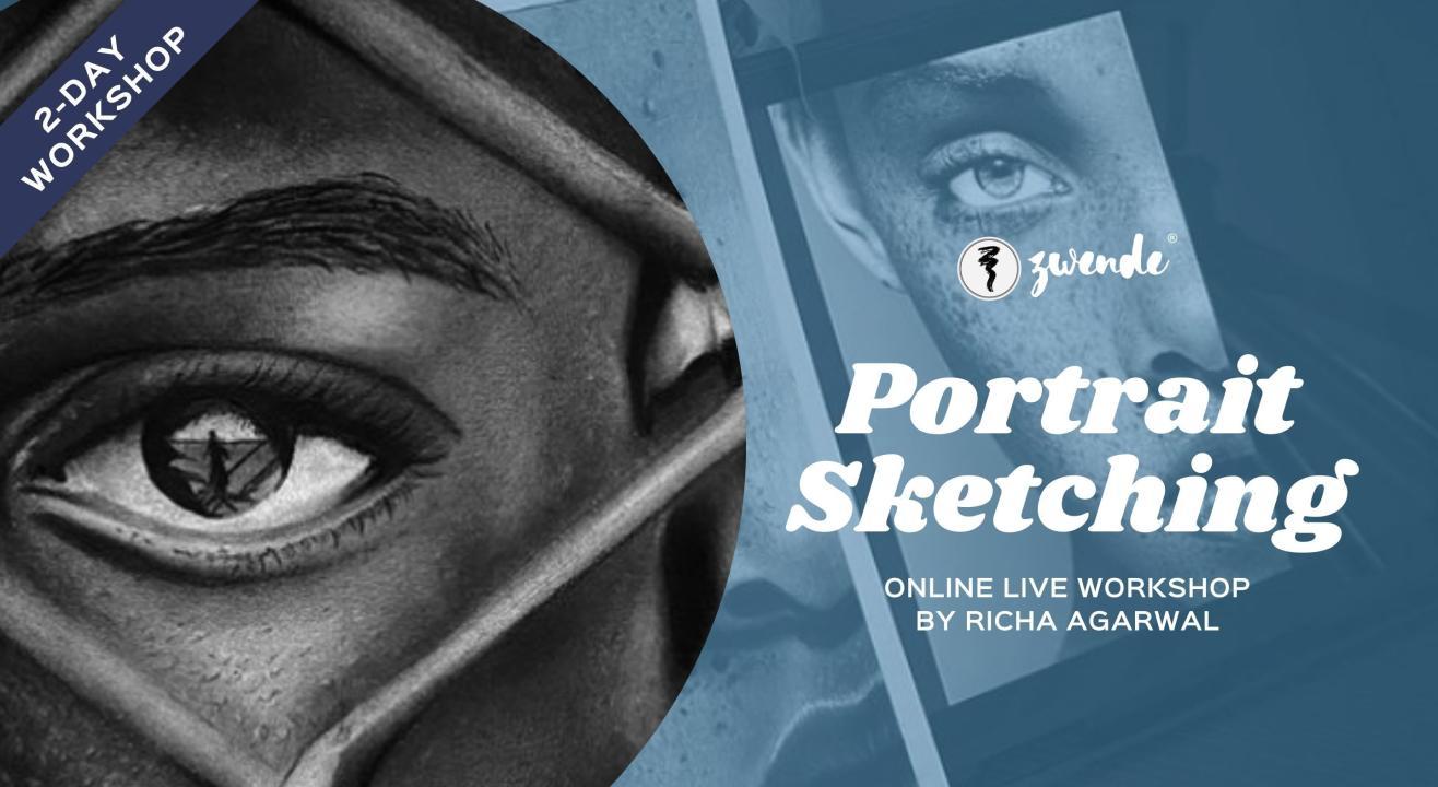 Portrait Sketching [Online Live Workshop]