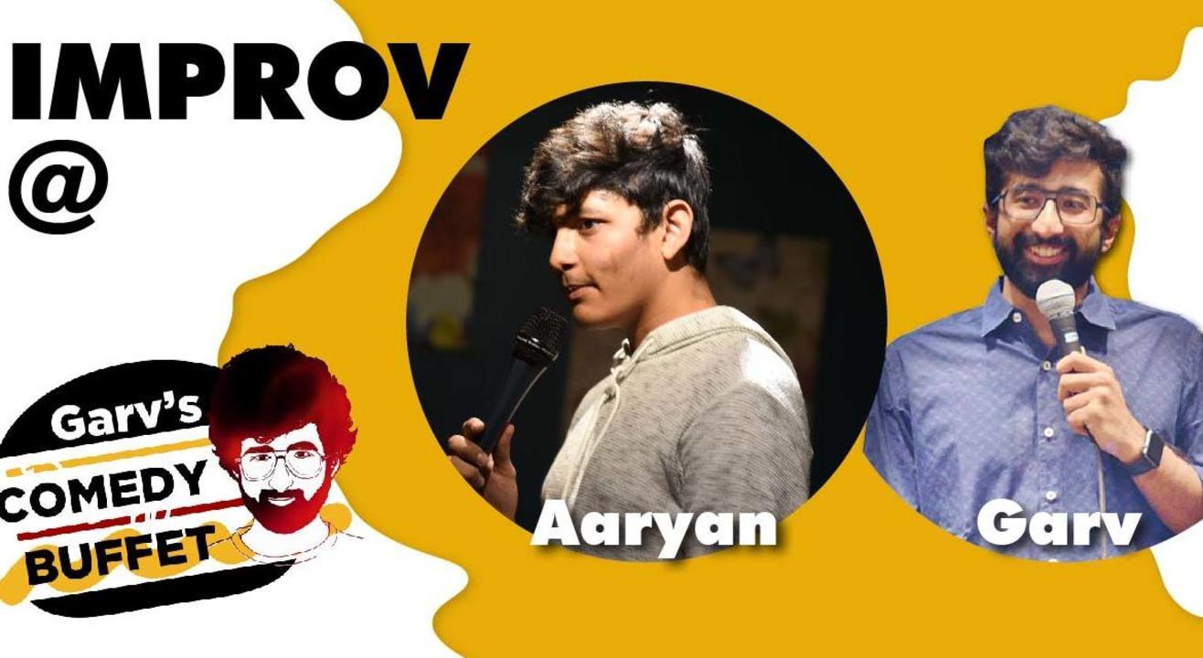 Improv @Garv's Comedy Buffet