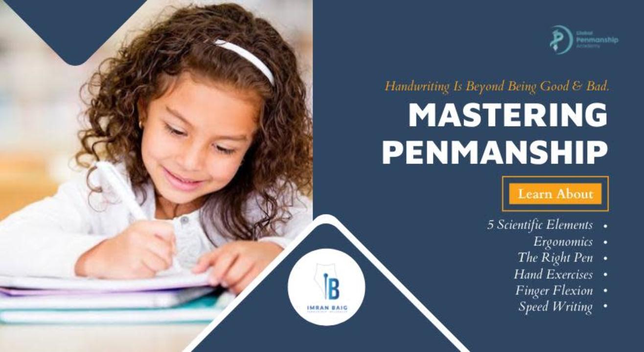 Mastering Penmanship