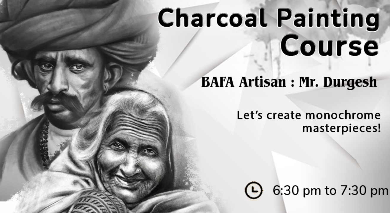 Charcoal Painting Course with BAFA