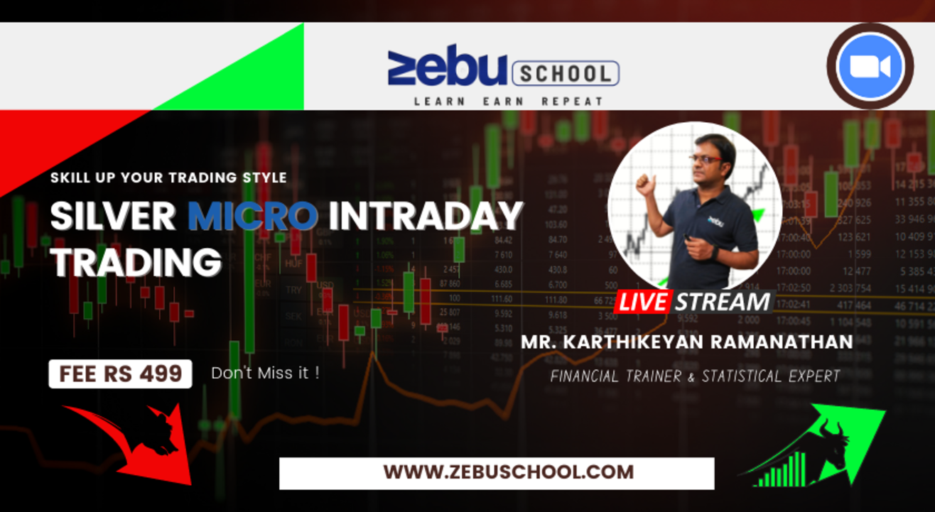 Zebu School | Earn Consistently from Silver Micro and Mini Intraday Trading