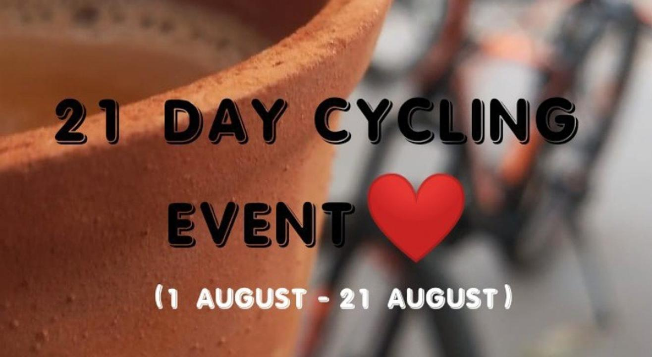 21 DAY CYCLING CHALLENGE