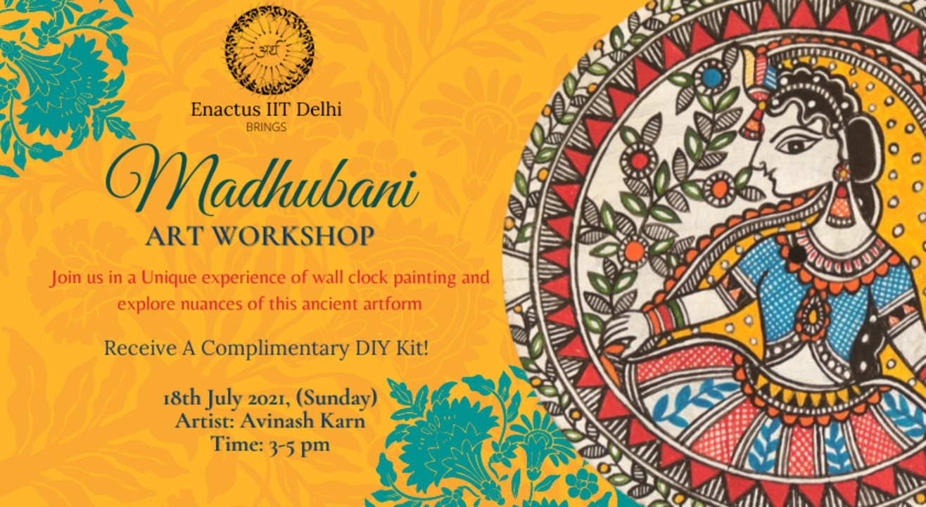 Madhubani Workshop (With an Eco-Friendly Gift!)