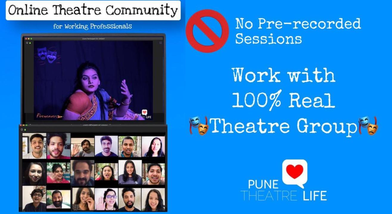 Acting From Home - Join a Theatre Group