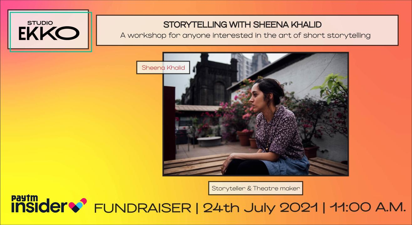 Fundraiser For Covid Relief | The Art Of Short Storytelling