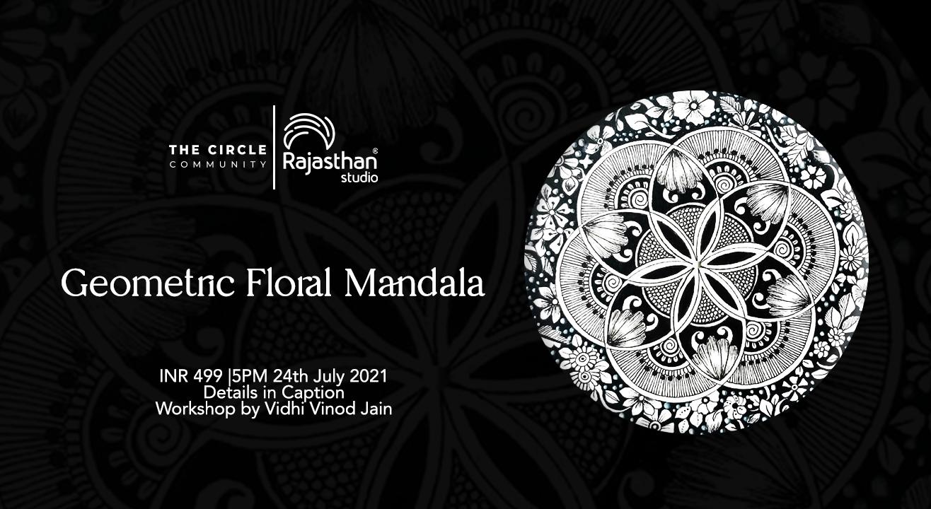 Geometric Floral Mandala by The Circle Community