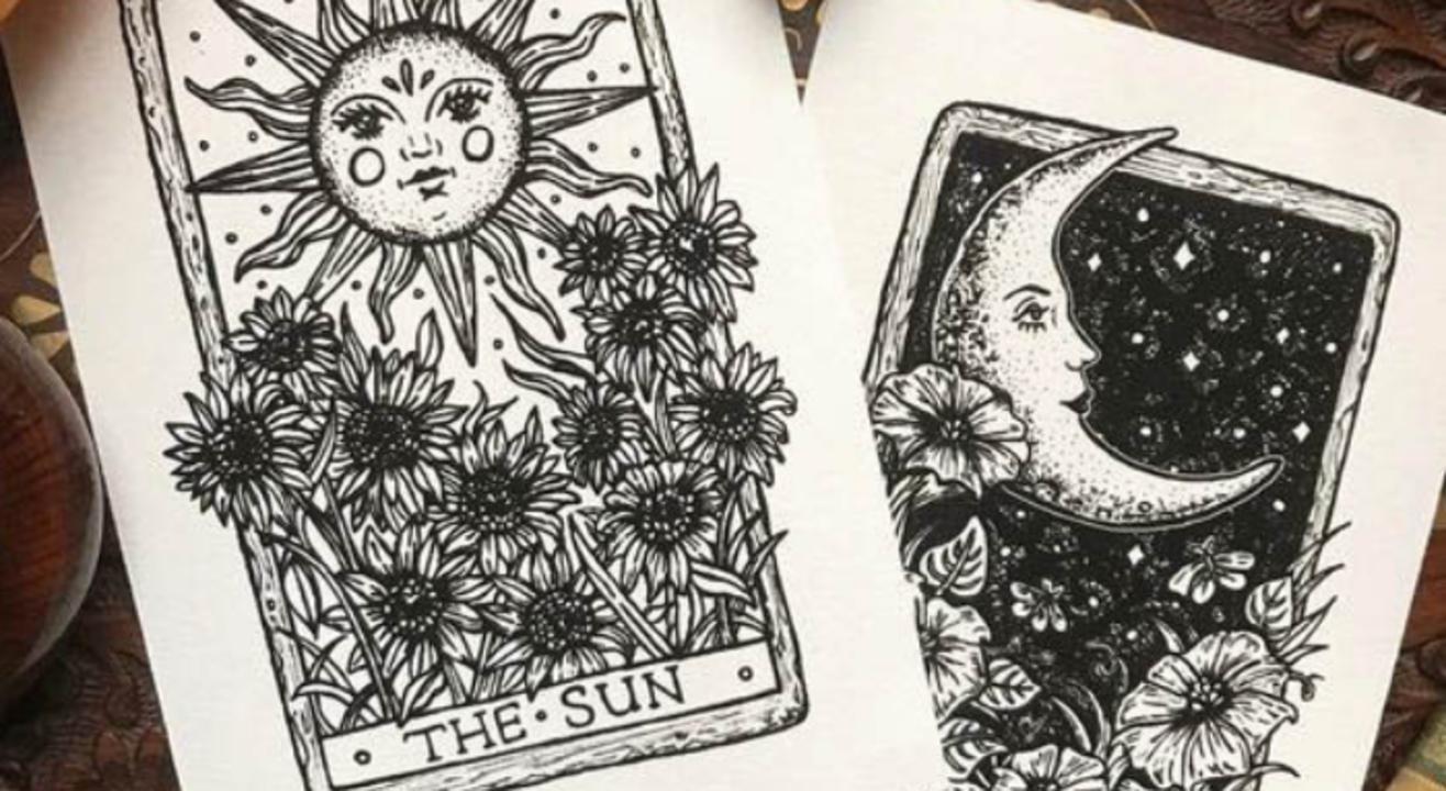 Pen Illustration (2-Day Workshop): Decoding the world of tarot and pen-illustration