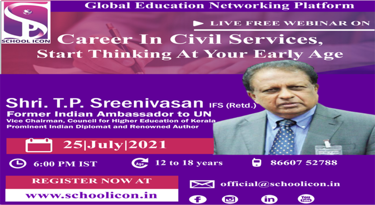 Career In Civil Services, Start Thinking At Your Early Age