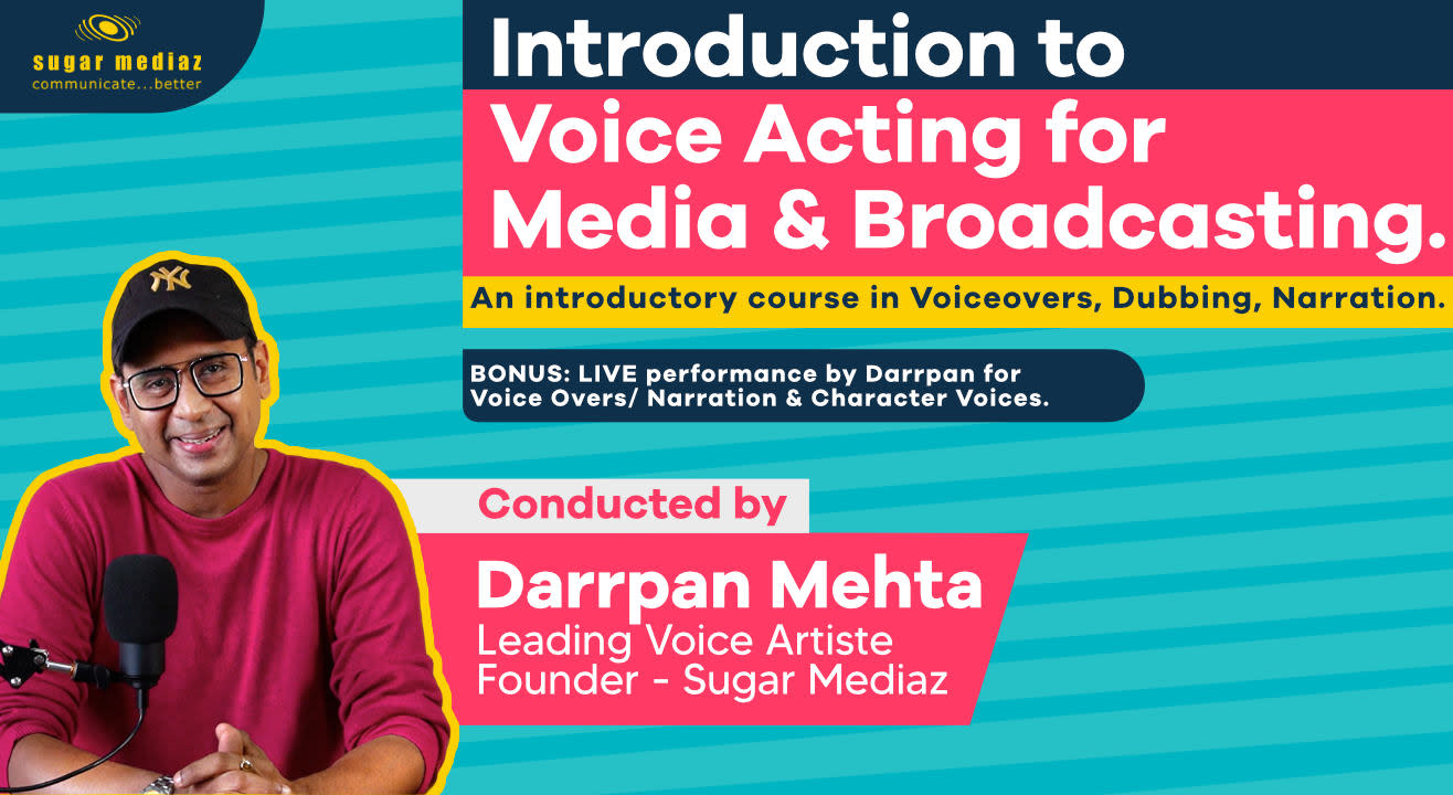 Introduction to Voice Acting for Media & Broadcasting