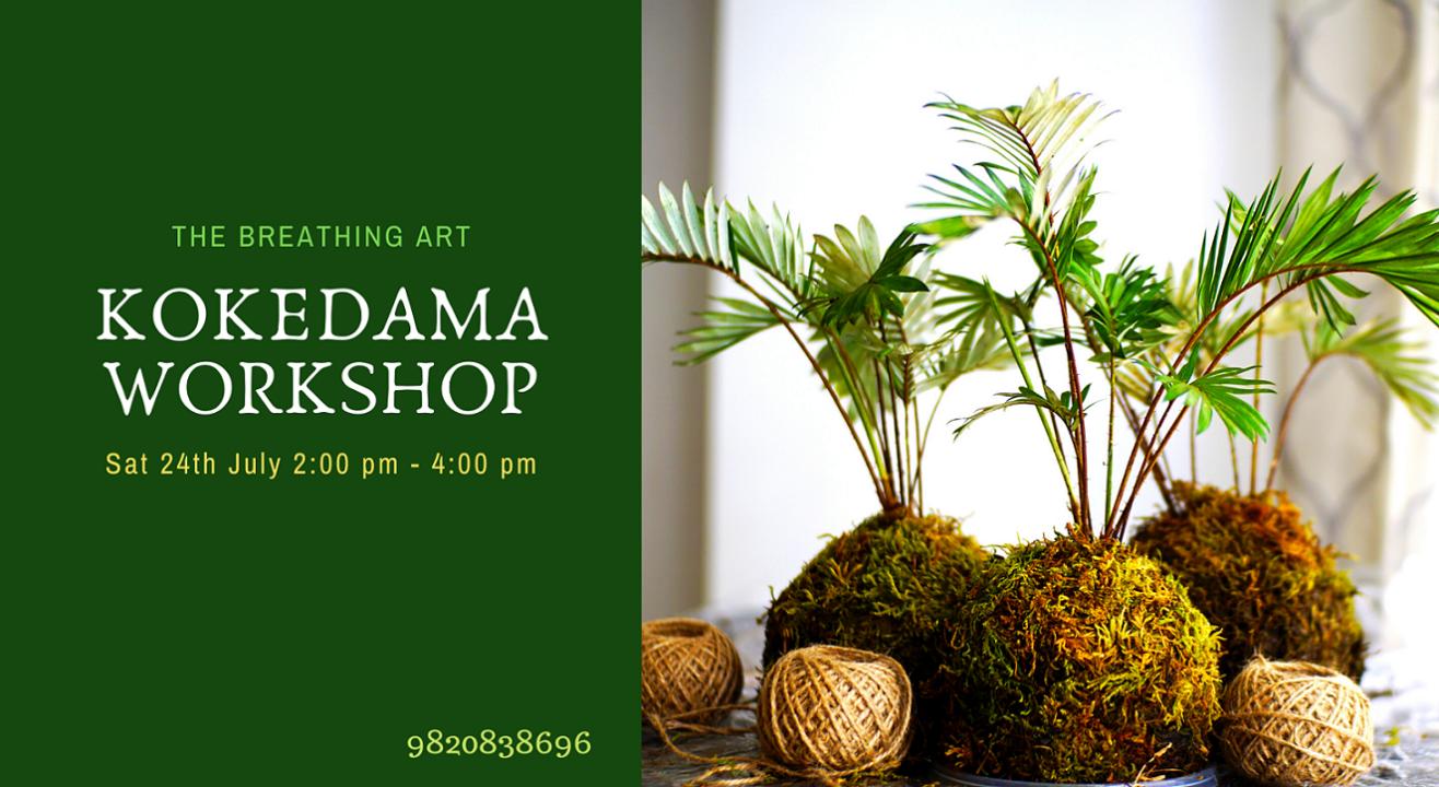 24th July Japanese Kokedama Workshop