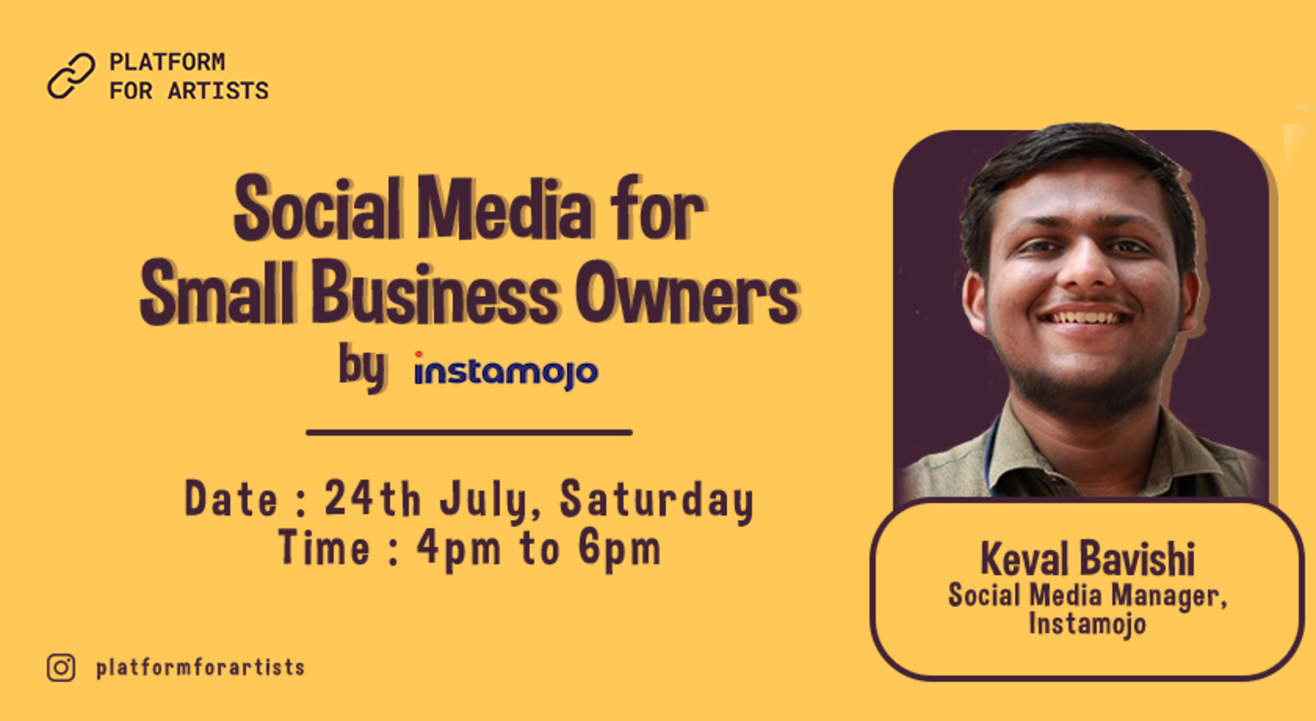 Social Media for Small Business Owners by Instamojo