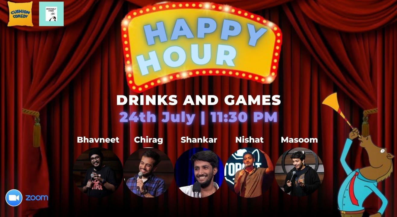 Happy Hour - Games & Drinks