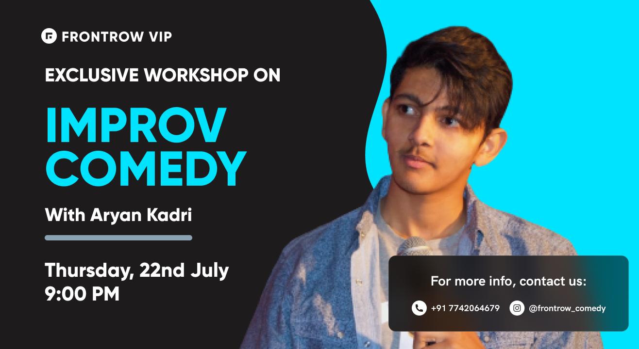 FrontRow VIP | Improv Comedy Workshop
