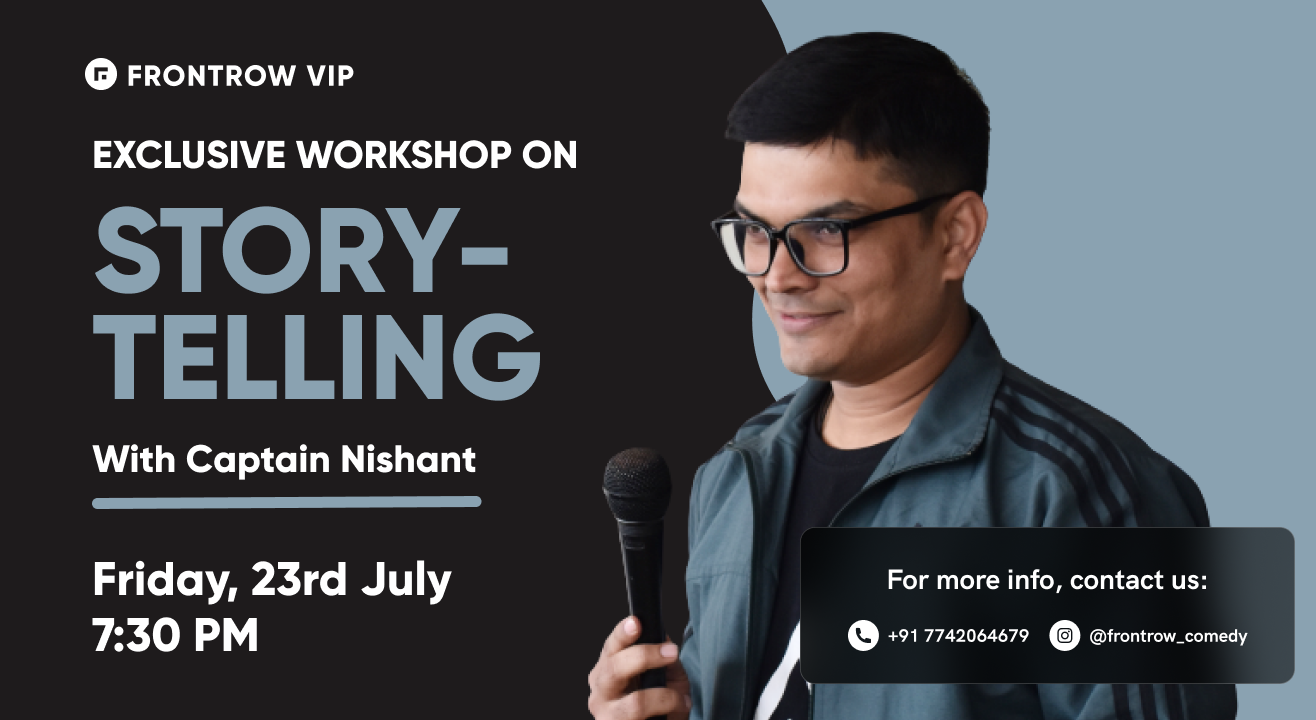 FrontRow VIP | Story-Telling Workshop