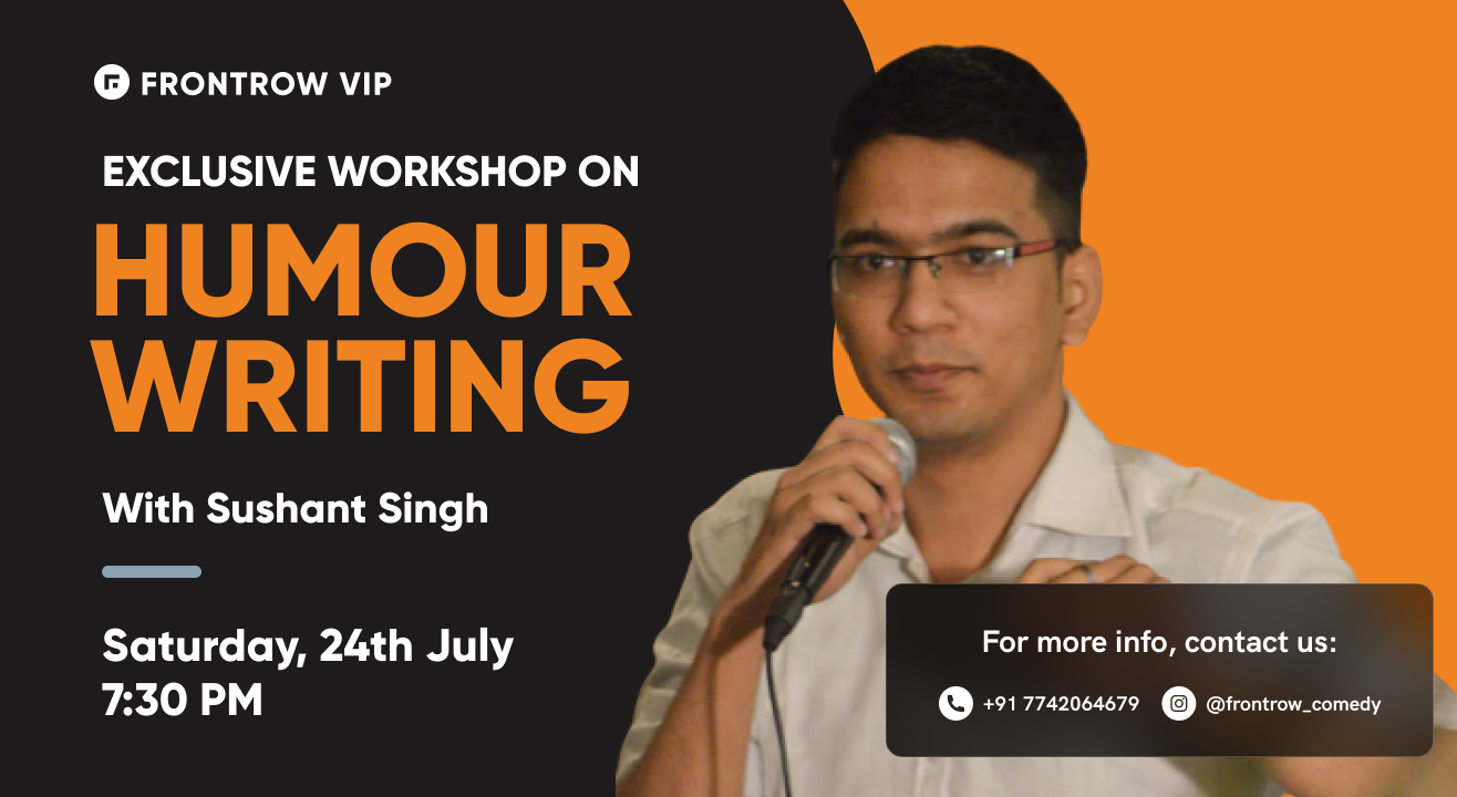 FrontRow VIP | Humour Writing Workshop
