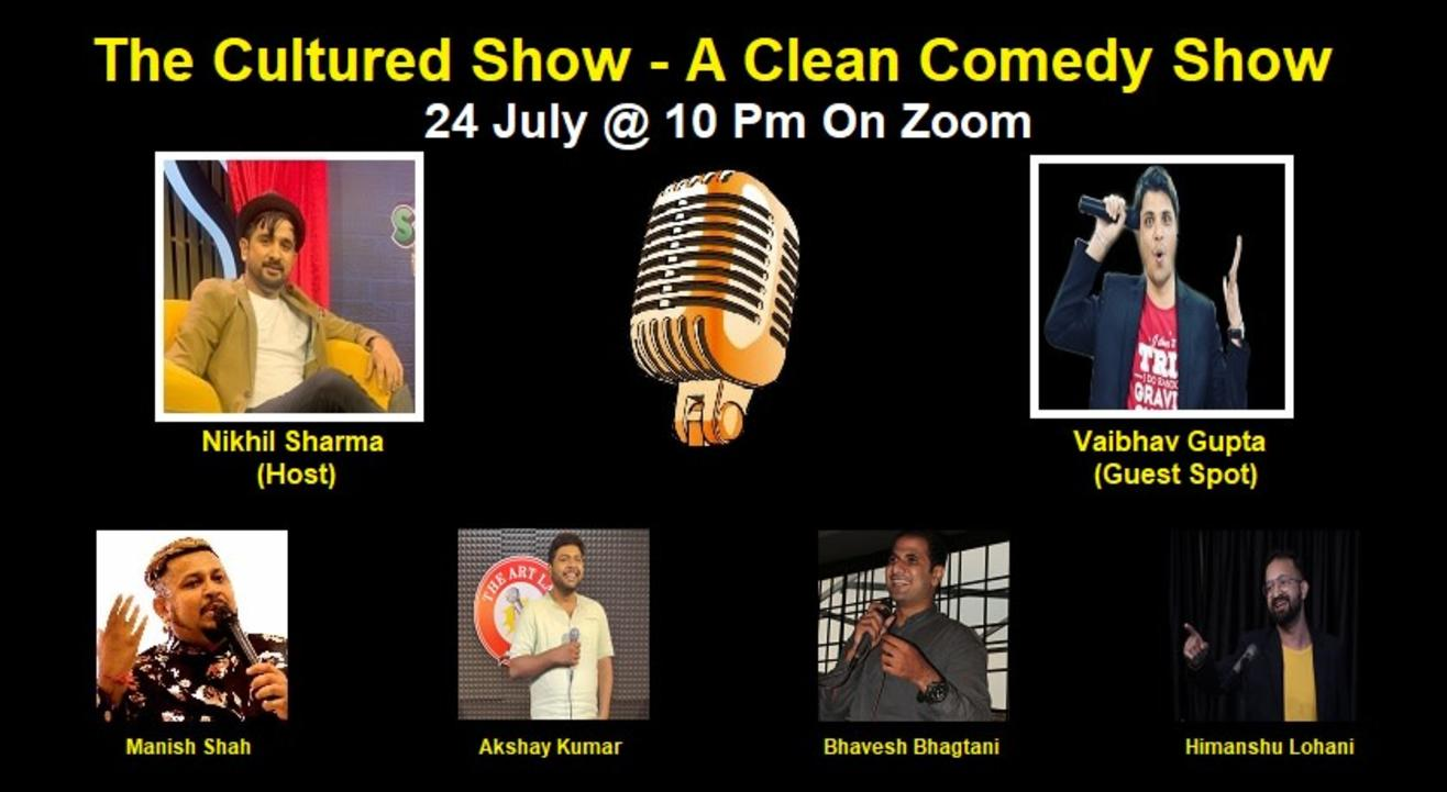 The Cultured Show - A Clean Comedy Show