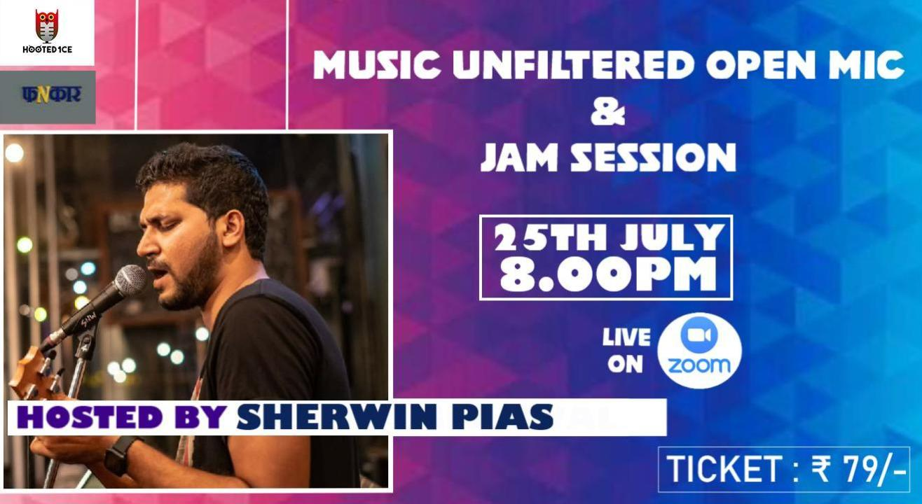 Music Unfiltered Open Mic & Jam Session ft. Sherwin Pais