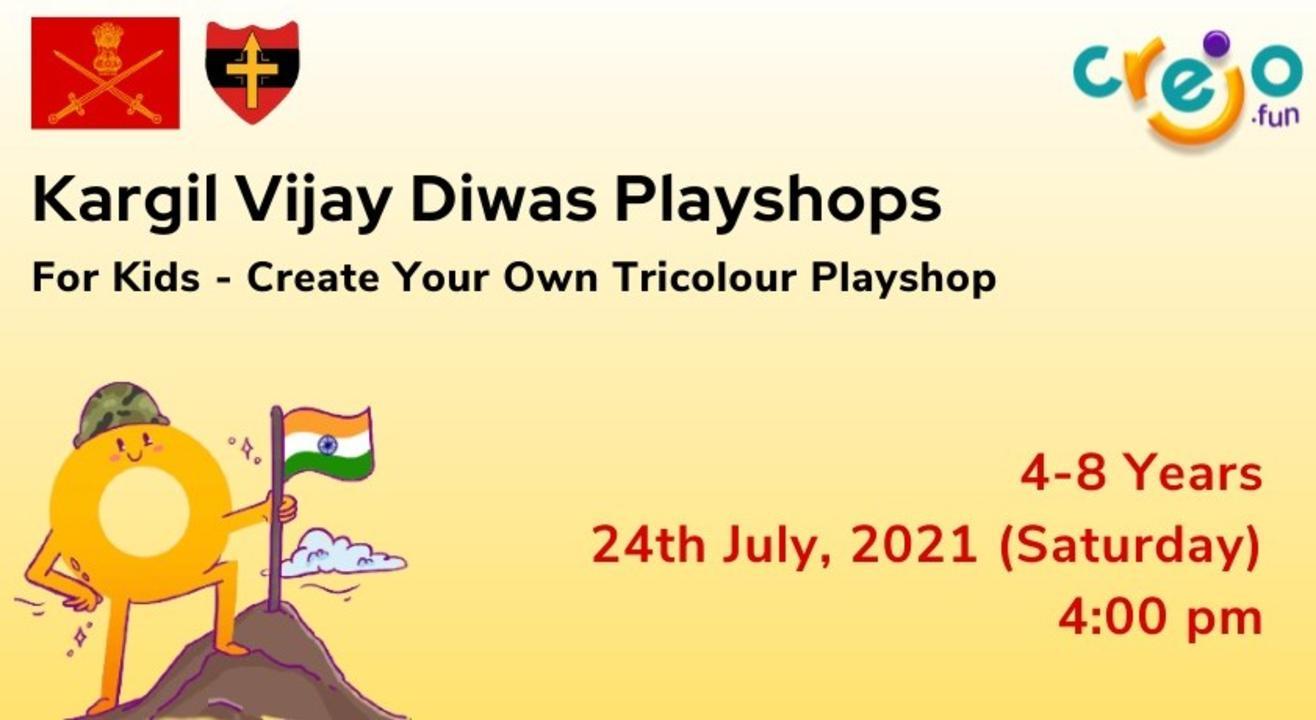 Create your own Tri-Colour Playshop