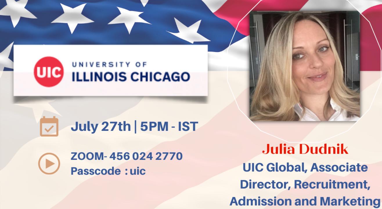 University of Illinois - Live Webinar