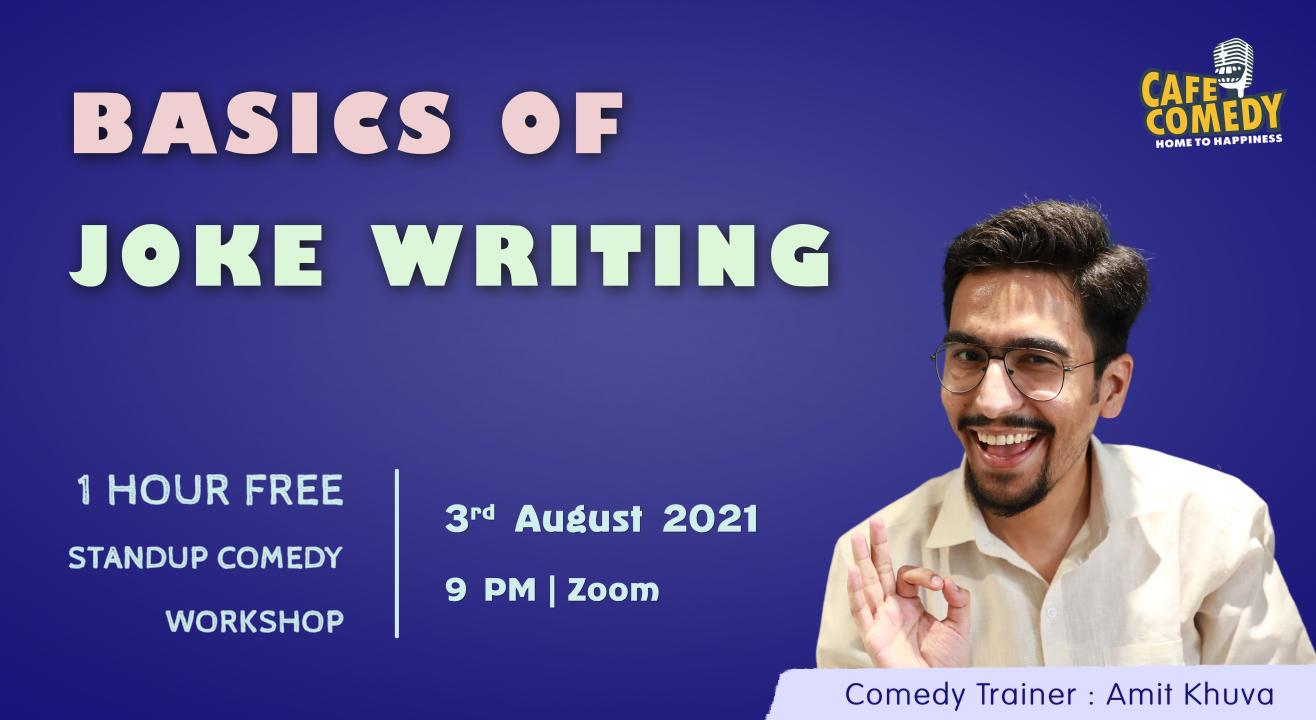 Basics of Joke Writing - Comedy Workshop on Zoom