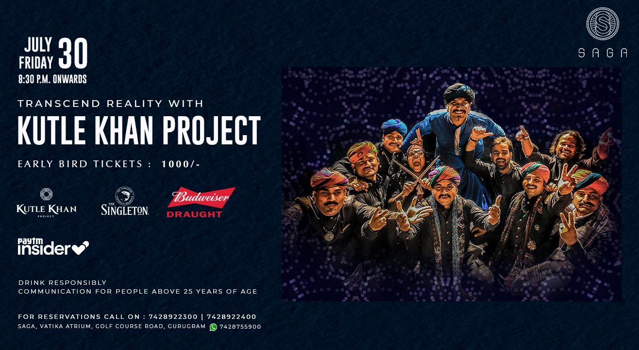 Kutle Khan Project - Live at Saga