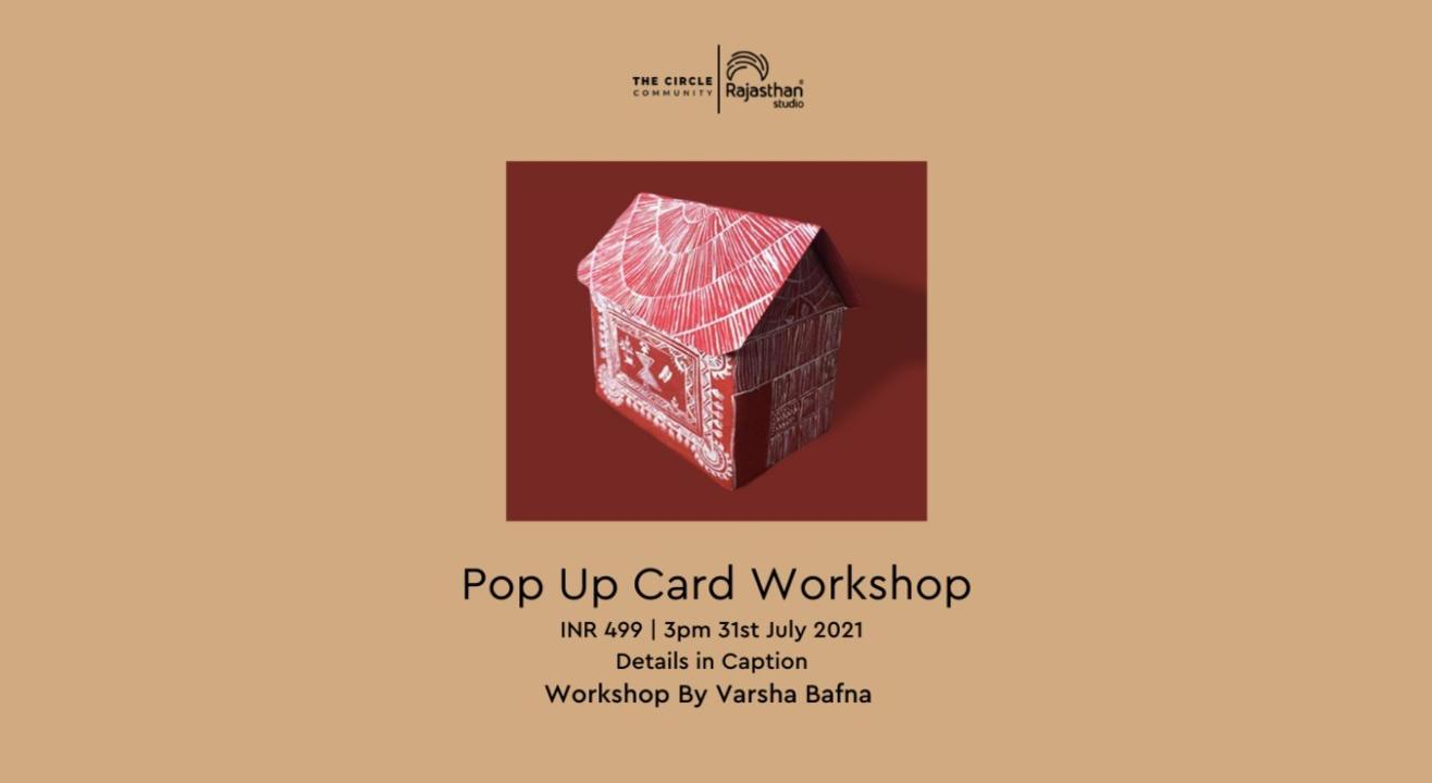 Pop up card workshop by The Circle Community