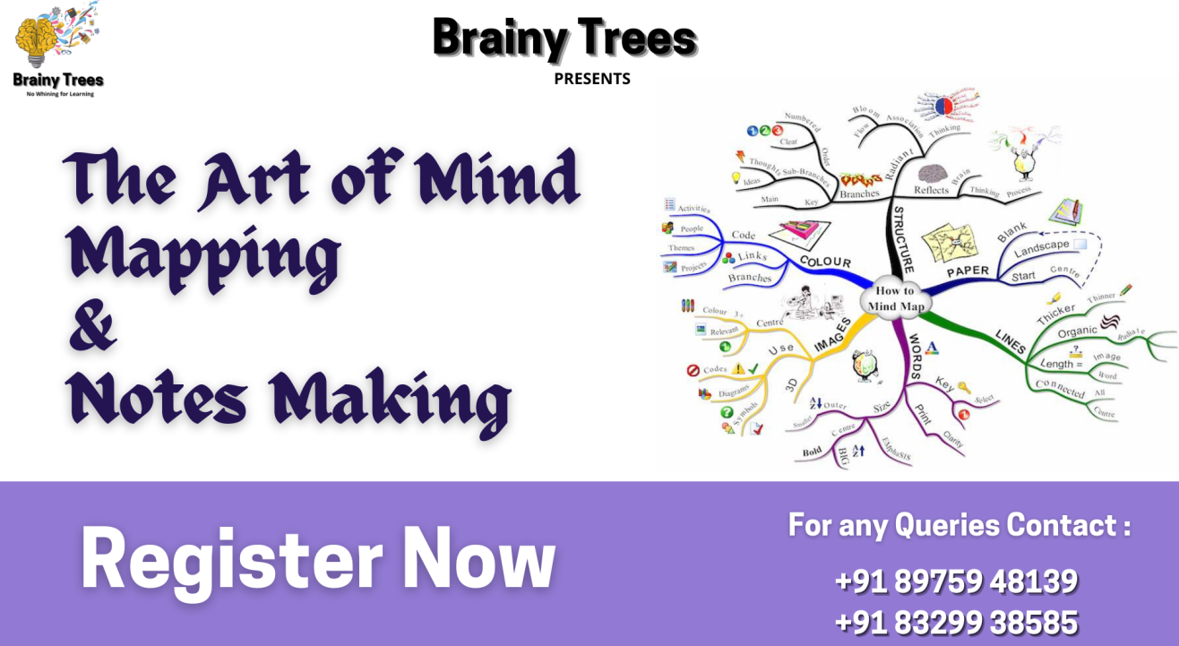 The Art of Mind Mapping & Notes Making