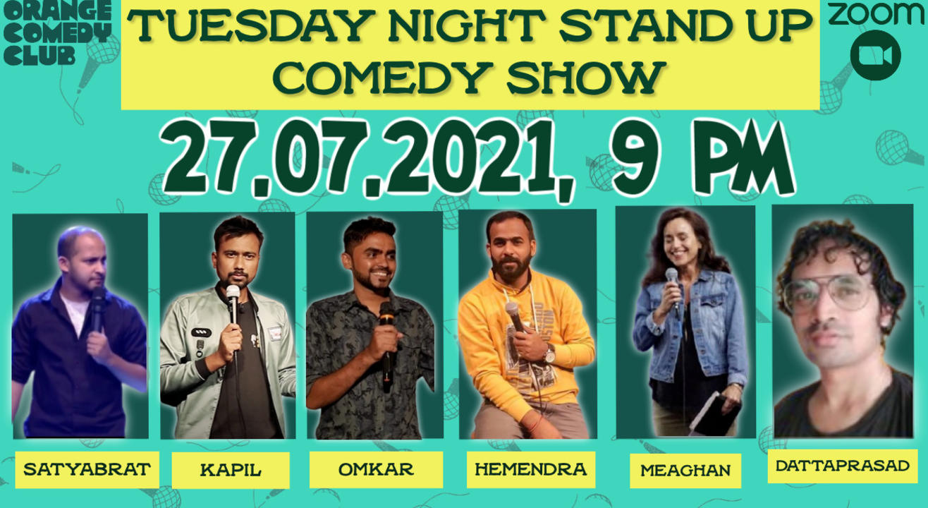 Tuesday Night Stand Up Comedy Show