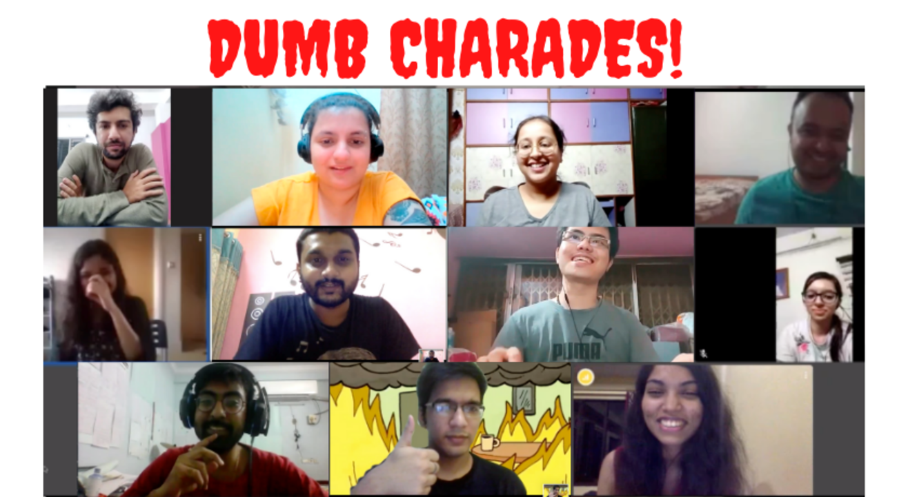 The Dumb Charades Night!