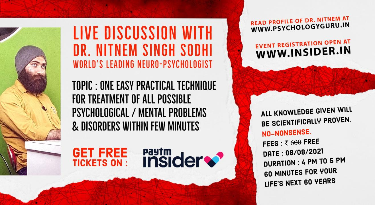 Live Discussion with Dr. Nitnem : 08/08/21