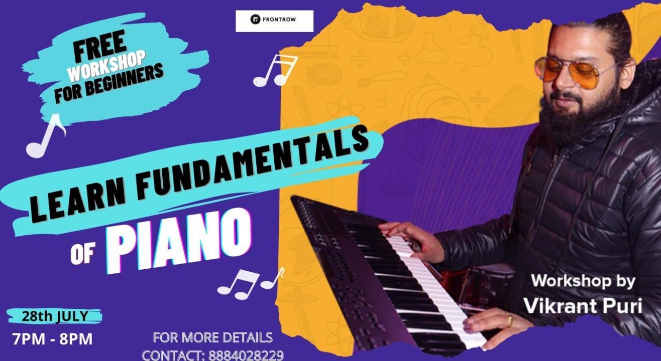 Beginner's Piano Workshop by Vikrant Puri