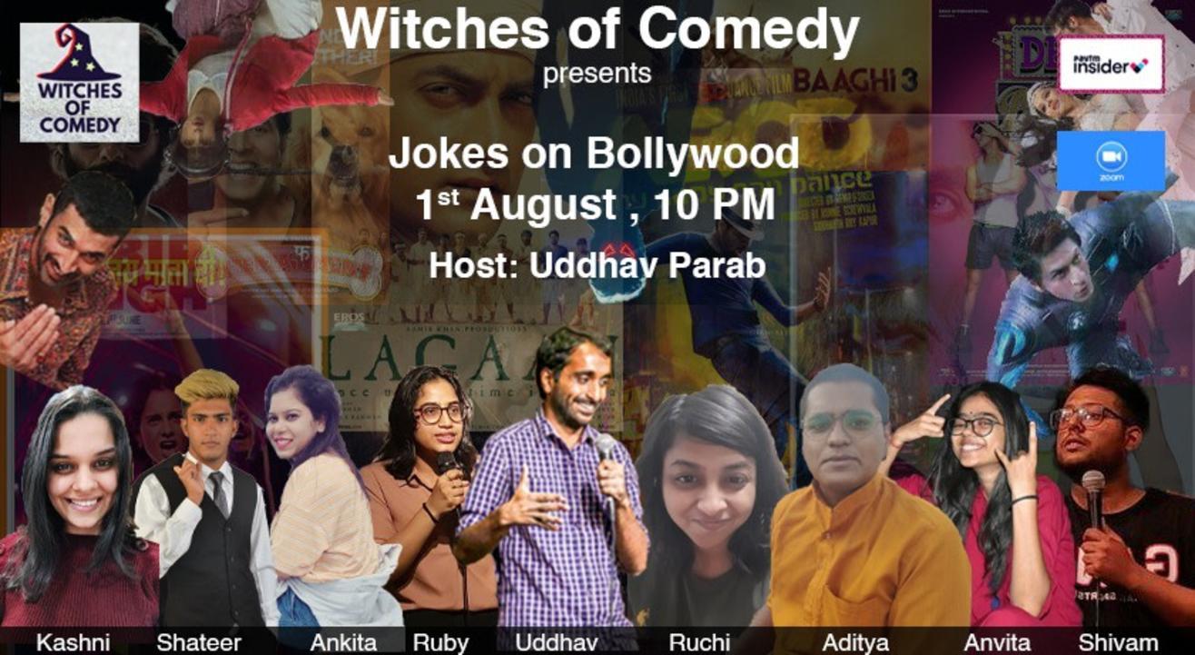 Jokes on Bollywood