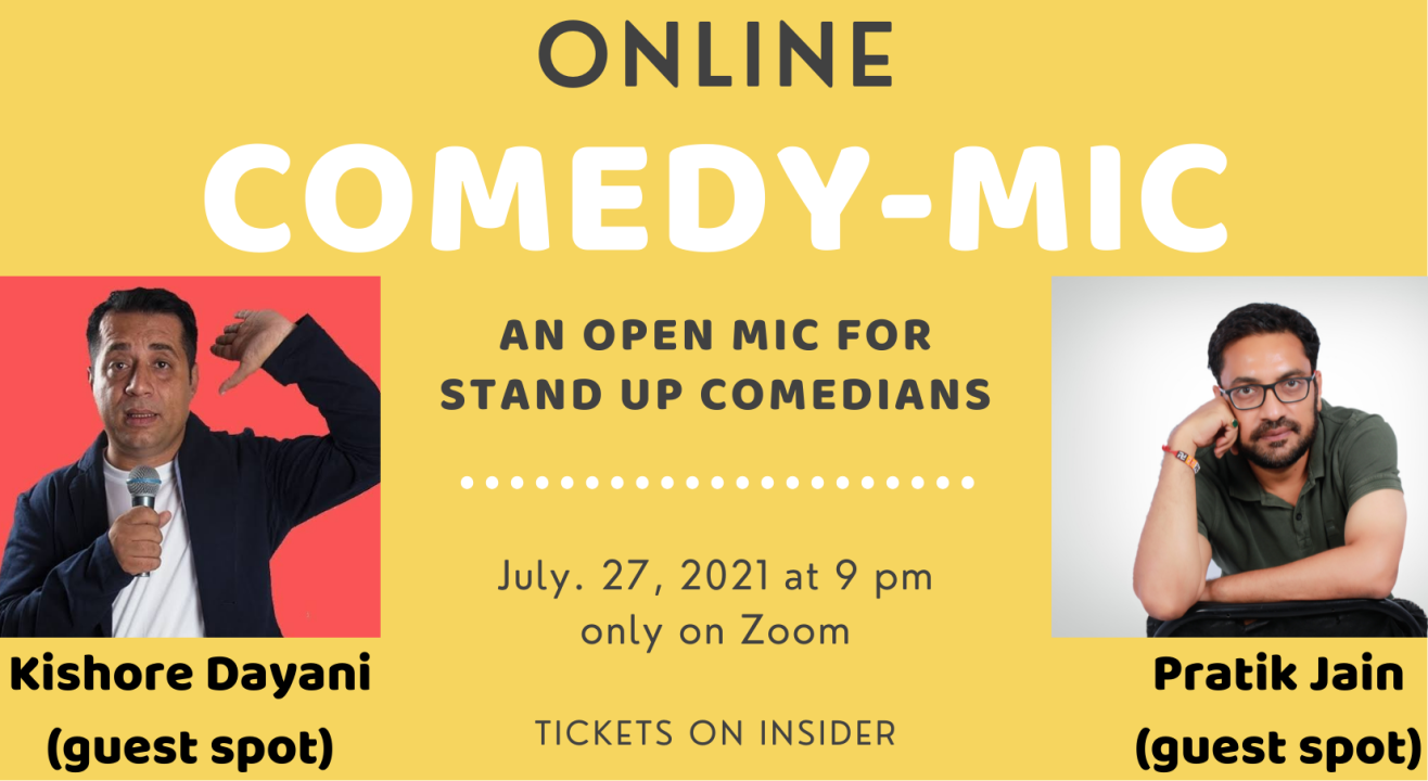 Eventica's Comedy Open Mic